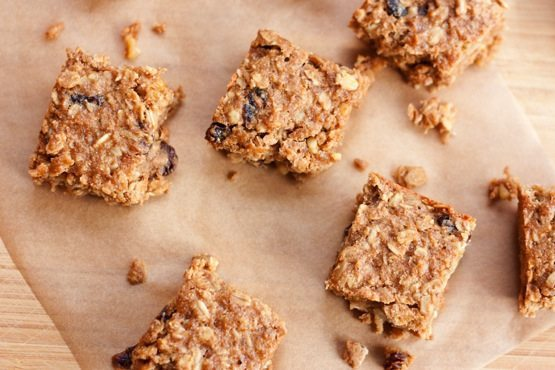 Healthy Banana Oat Power Bars