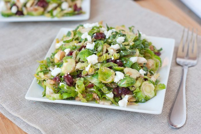 Brussels Sprout Chopped Salad