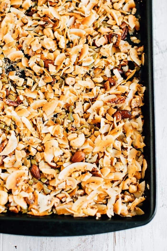 Grain Free Coco-Nutty Granola