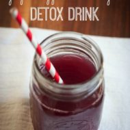Apple Cider Vinegar and Grape Antioxidant Drink