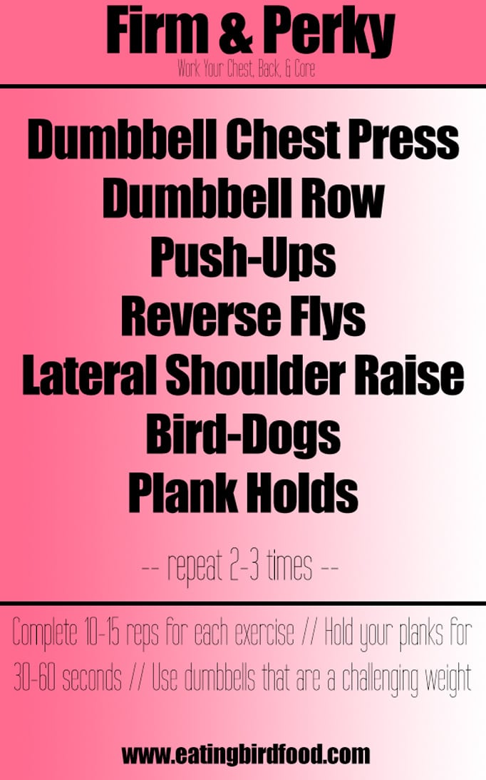 Firm and Perky Chest Workout
