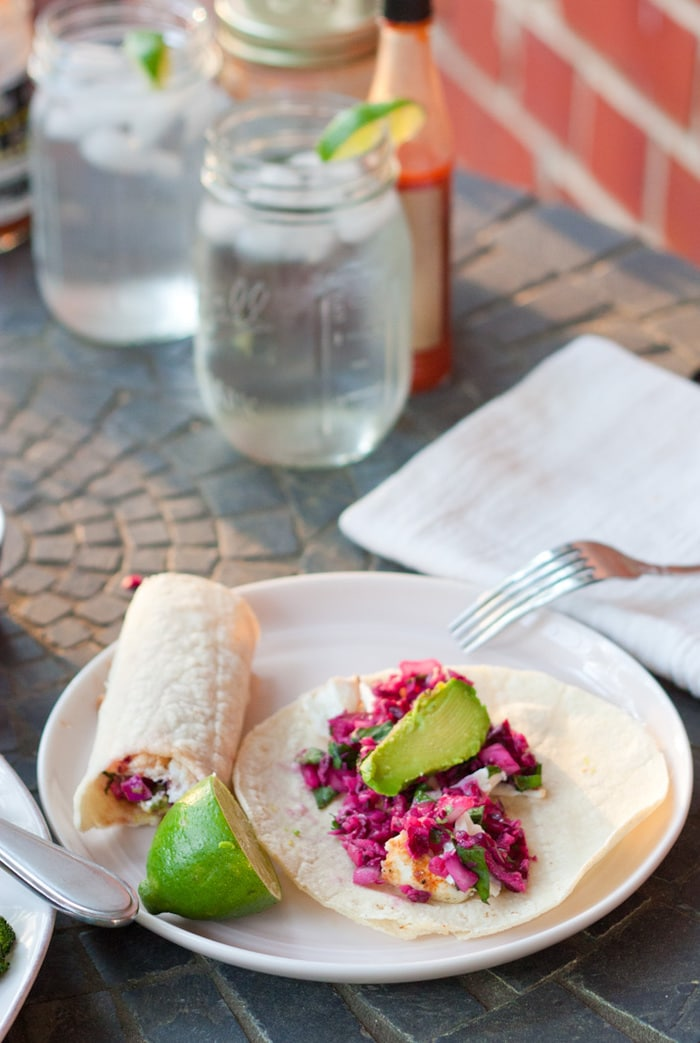 Clean Eating Grilled Fish Tacos
