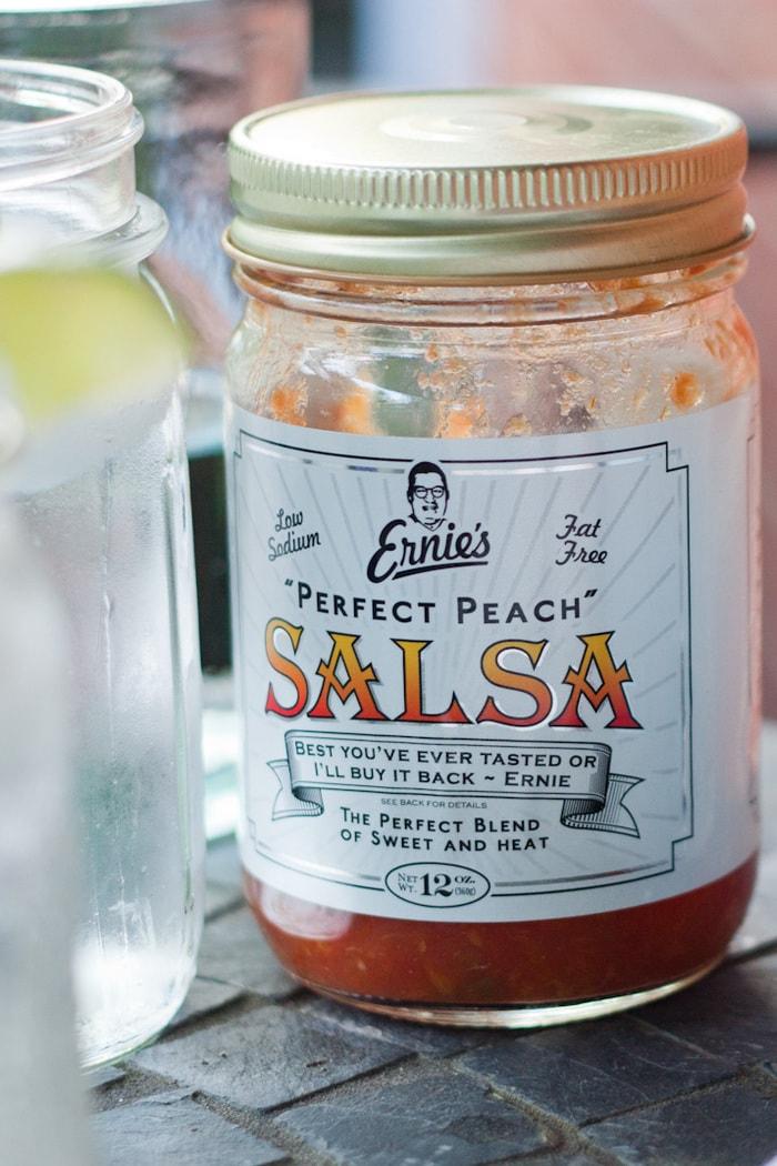 Ernie's Peach Salsa
