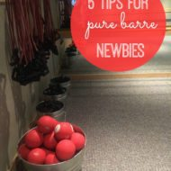 Pure Barre: 5 Tips for Newbies