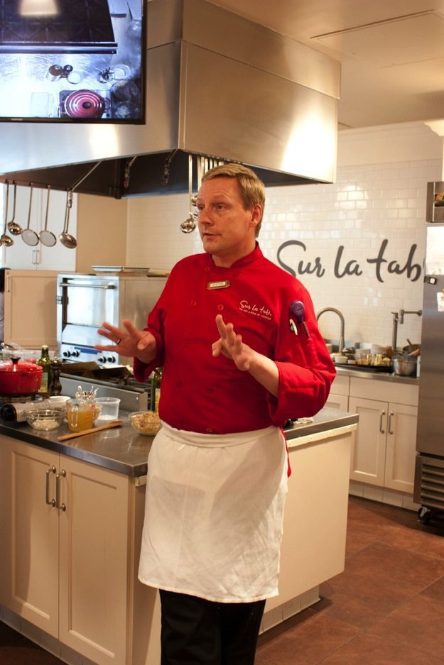 Stefan Pickerel - Sur La Table Cooking Class
