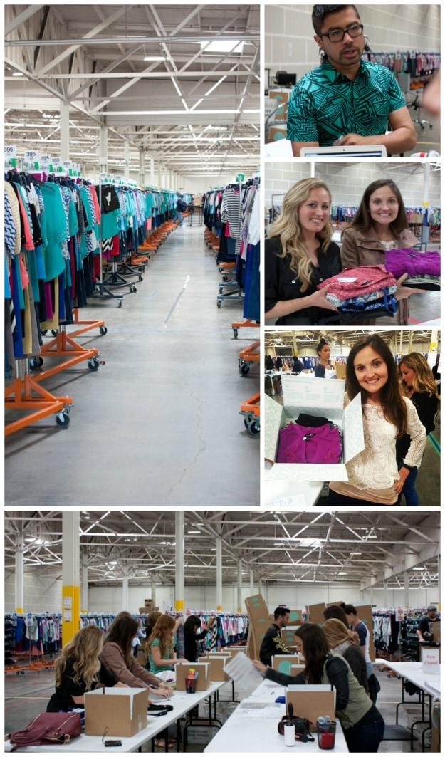 Touring the Stitch Fix Warehouse