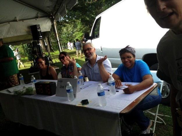 Judges RVA Veg Fest Food Fight
