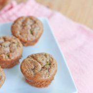 Flourless Zucchini Muffins