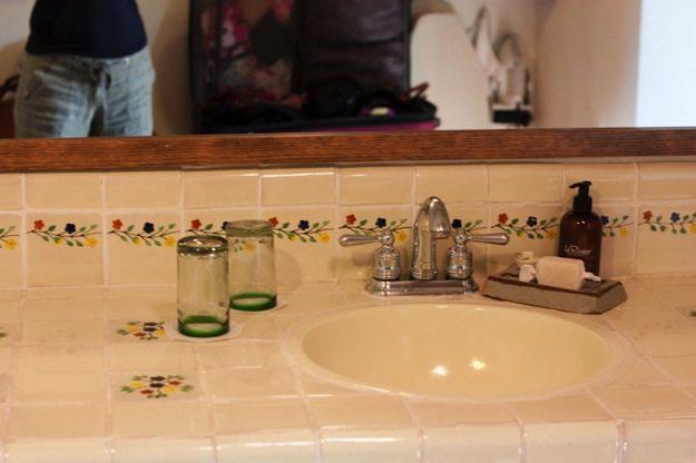 Rancho La Puerta Villa Bathroom sink