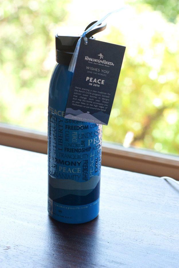 Rancho La Puerta Water Bottle