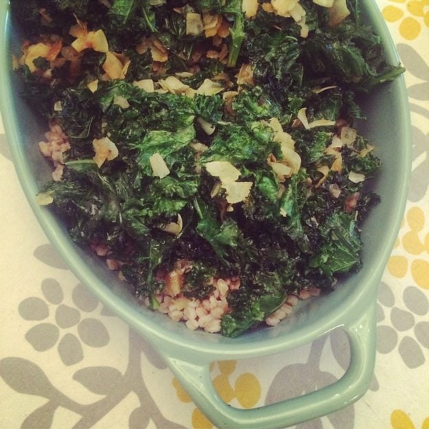 Kale and Coconut Salad