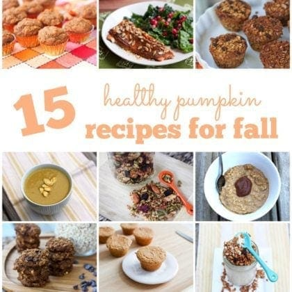 15 Healthy Pumpkin Recipes For Fall