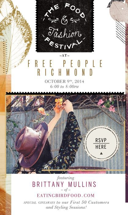 Free People Store Event October