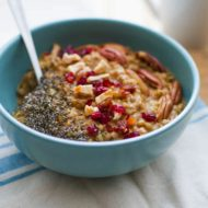 Pumpkin Buckwheat Porridge Power Bowl
