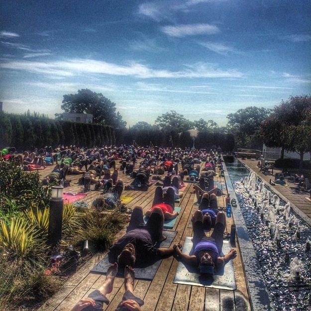 Yoga at VMFA