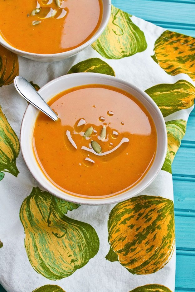 Winter Squash and Apple Soup + Bee Friendlier Giveaway