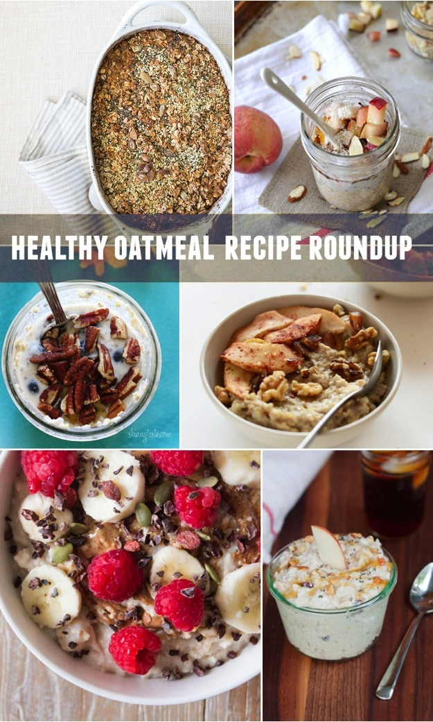 Oatmeal Recipe Roundup // 30 Healthy Oatmeal Recipes to try!