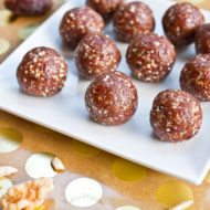 Homemade Pumpkin Pie Larabar Balls