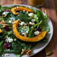 Fall Harvest Baby Kale Salad