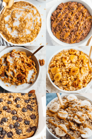 Easy & Healthy Oatmeal Recipes You Need to Try Today
