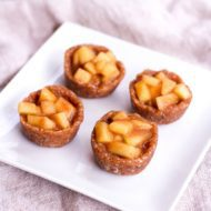 Raw Mini Apple Pies