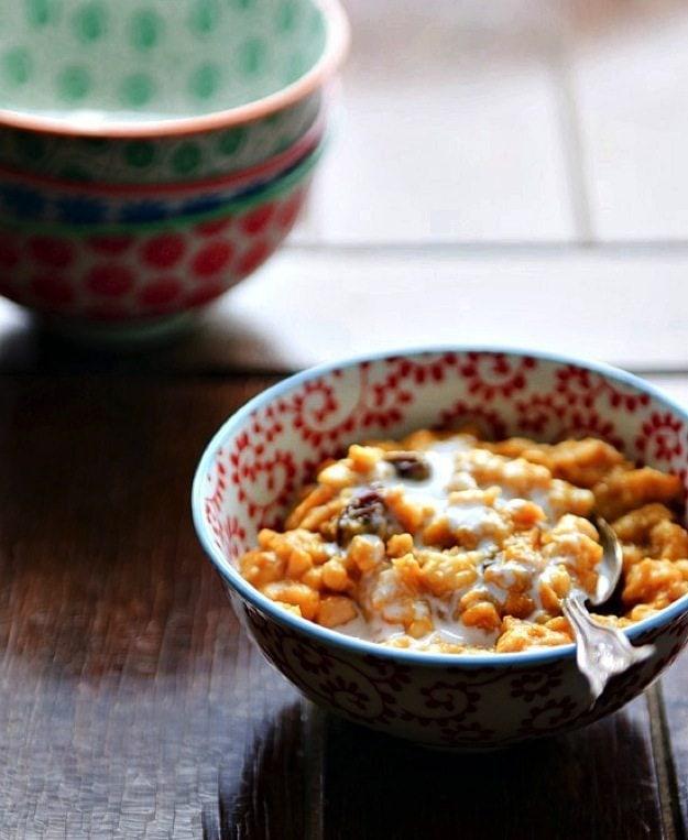 Chai Pumpkin Oatmeal — healthy green kitchen