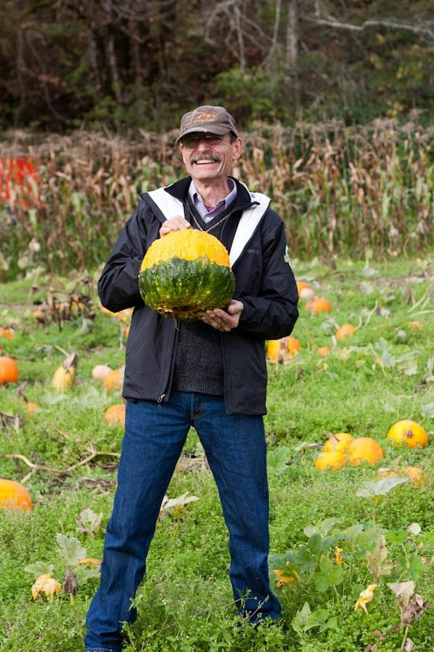 Jim with pumpkin  1 of 1
