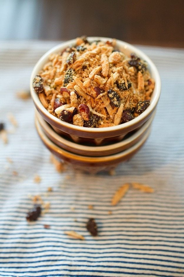 Coconut Maple Quinoa Granola