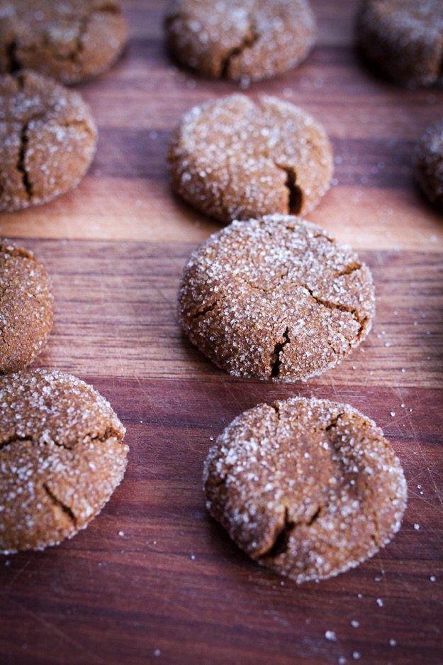Quinoa Gingersnap Cookies