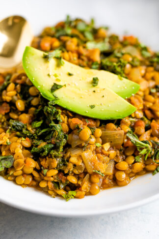 Lentil Stew with Kale