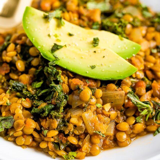 Lentil Stew with Kale