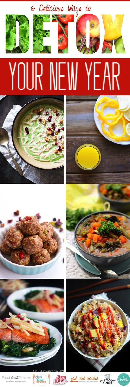 6 Delicious Detox Recipes for the New Year