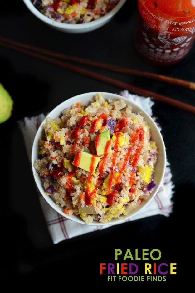 Paleo Fried Rice // Fit Foodie Finds