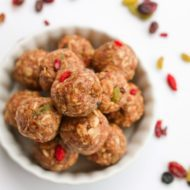 Superfood Energy Balls + Detox Recipes