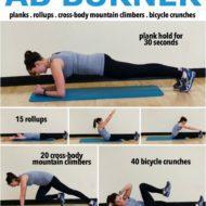 10 Minute Ab Burner Workout