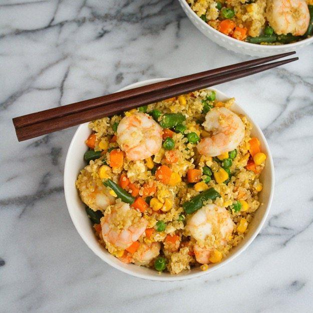 Weeknight Meal: Shrimp Fried Quinoa