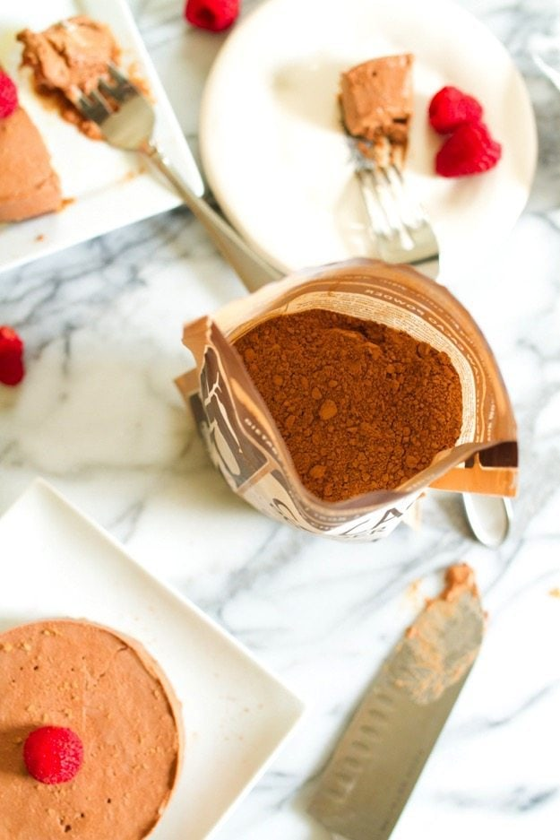 Cacao Powder for Chocolate Coconut Tart