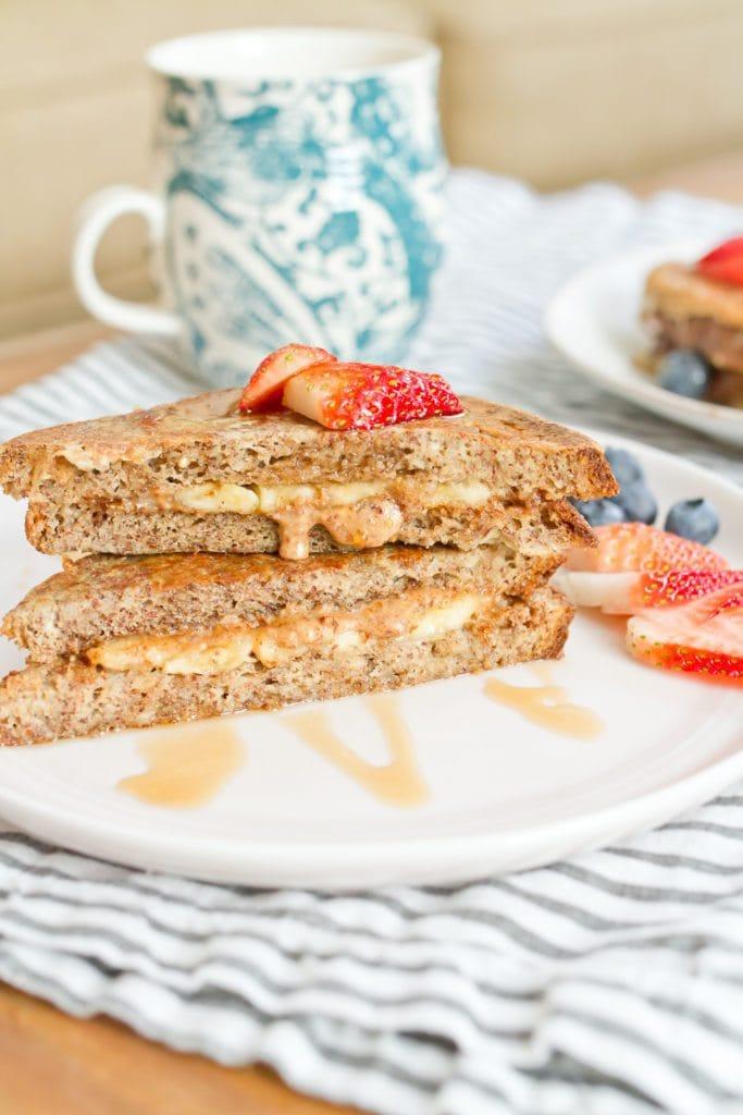 healthy stuffed frech toast