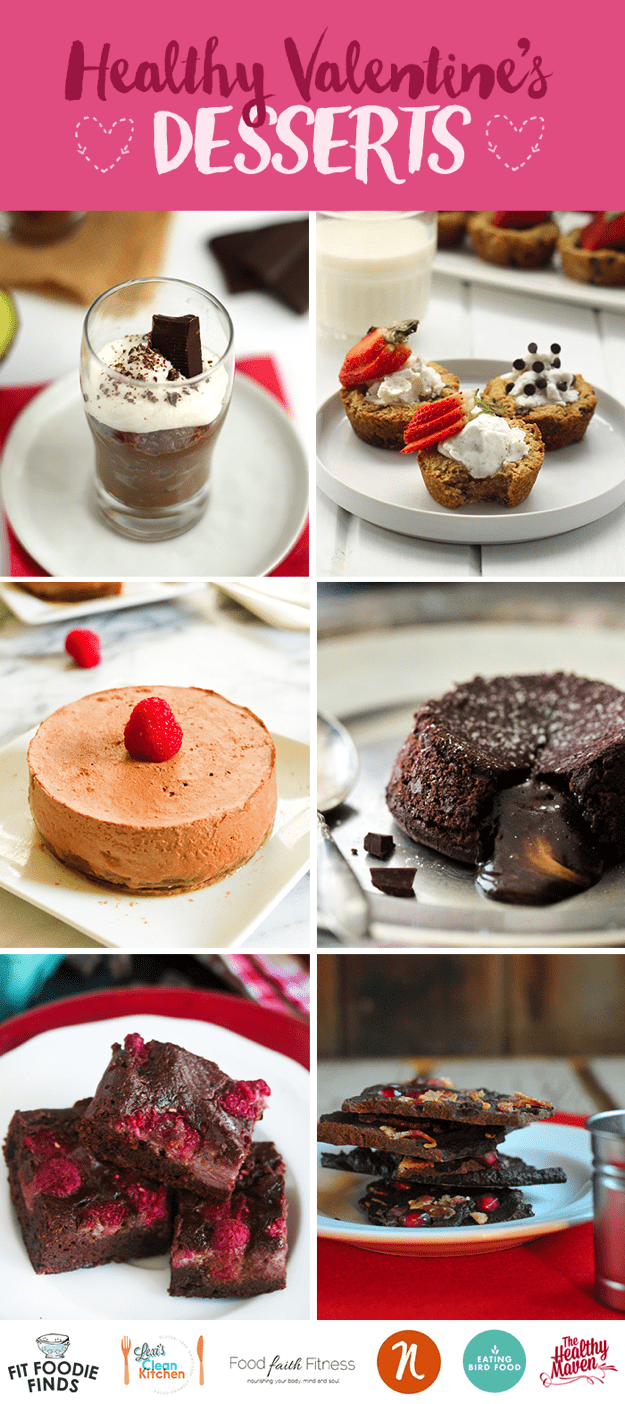 Healthy Valentines Desserts that are paleo and grain-free