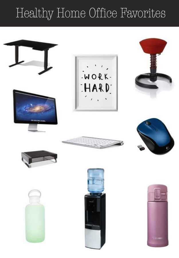 Healthy Home Office Favorites