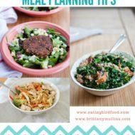 Meal Planning Tips + This Week's Menu
