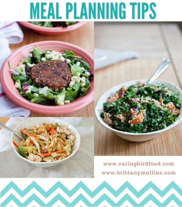 Meal Planning Tips  Free Meal Planning Printable  Eating Bird Food