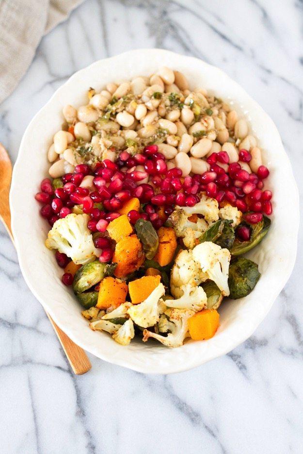 Roasted Vegetable Salad With Horseradish Vinaigrette