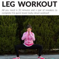 20 Minute Leg Workout