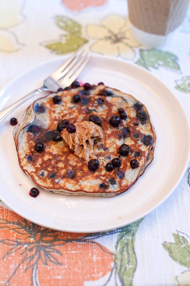 blue Protein Pancake
