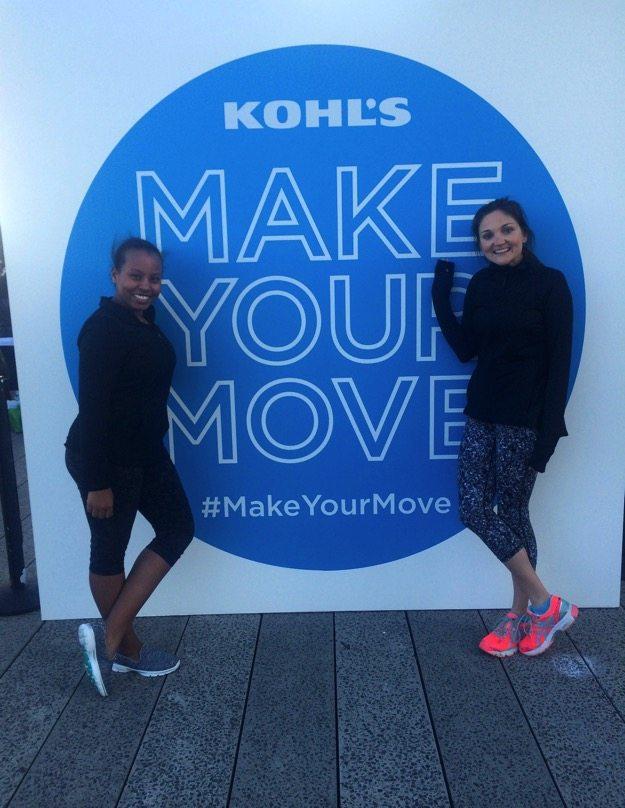 Kohl's Gaiam Launch #makeyourmove
