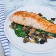 Maple Soy Broiled Salmon