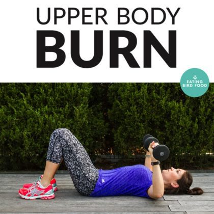 #MakeYourMove Upper Body Workout