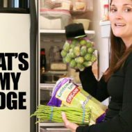 What's in My Fridge + Healthy Fridge Shopping List