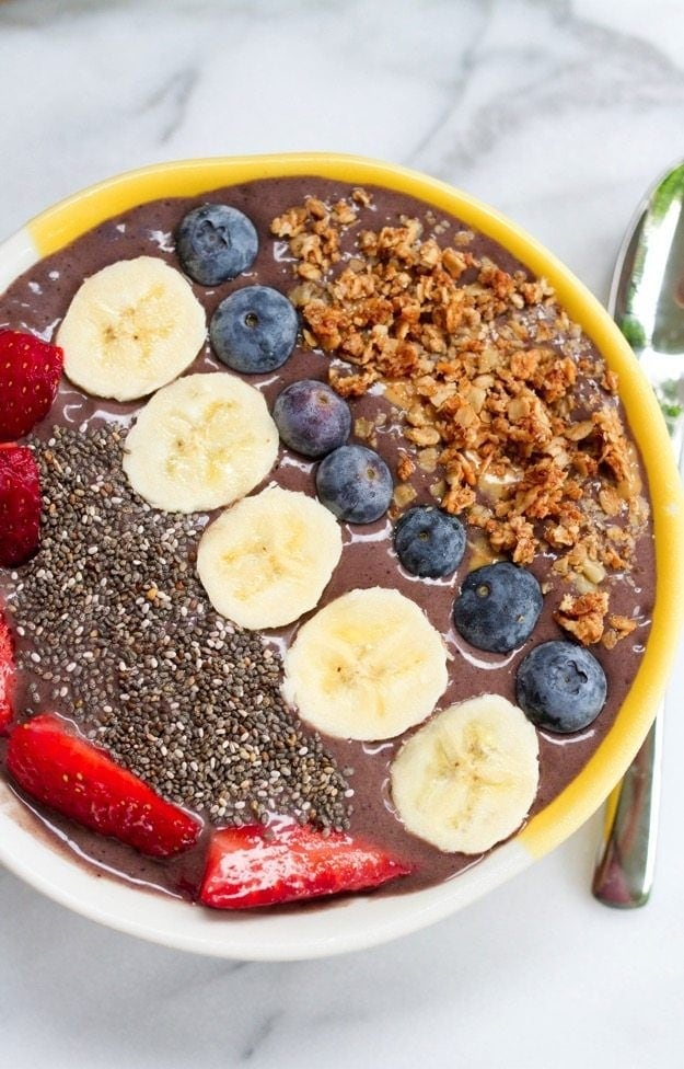 The Ultimate Smoothie Bowl #healthy #vegan #glutenfree